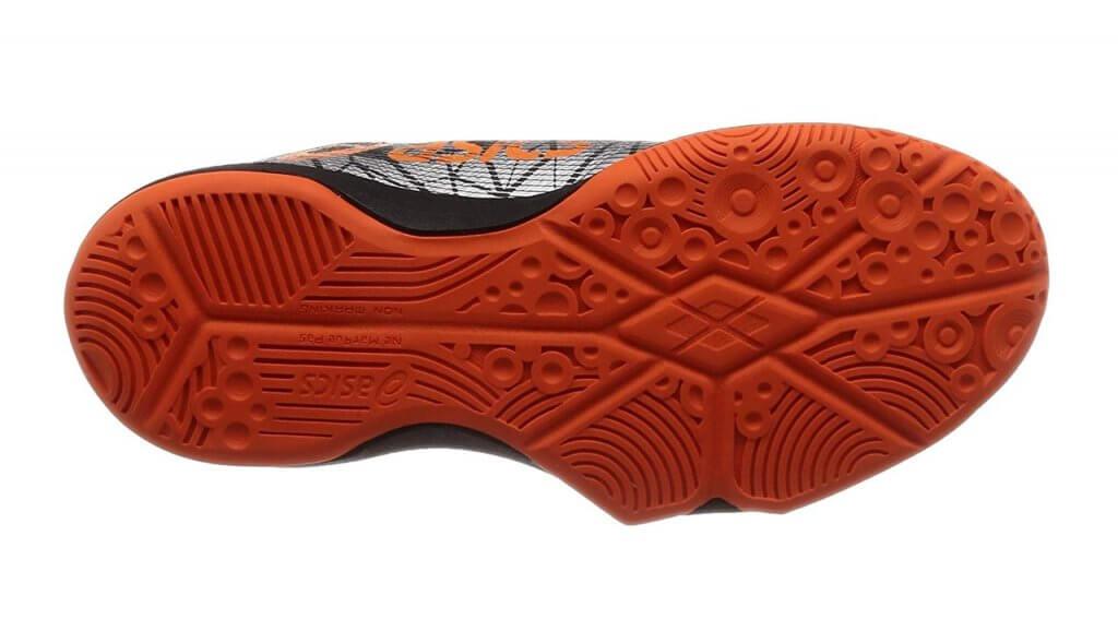 ハンドボールシューズの靴底イメージ