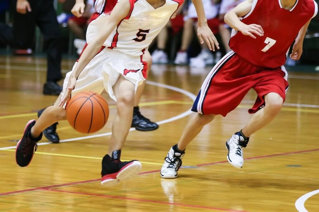バスケットボールのプレーイメージ