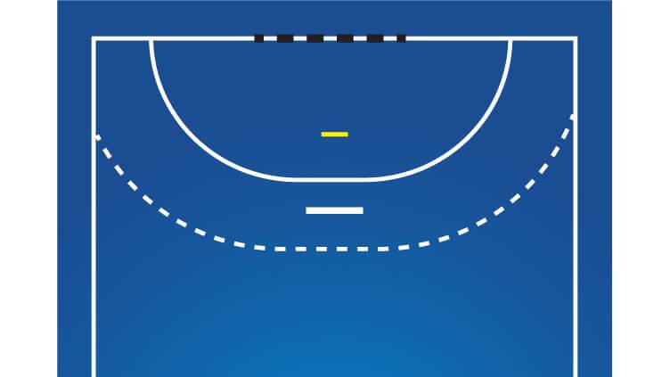 ゴールキーパーラインイメージ