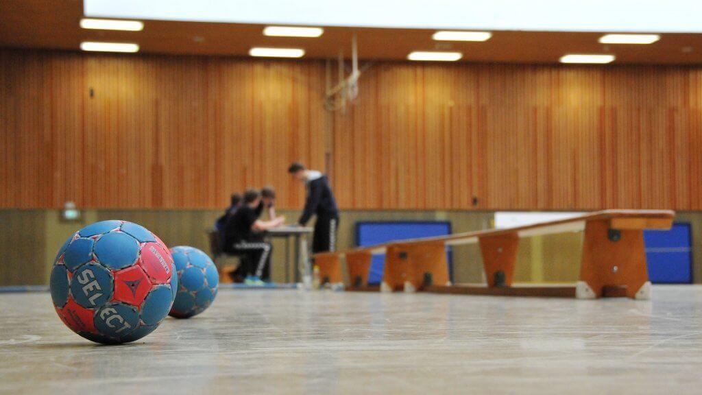 ハンドボールの練習イメージ