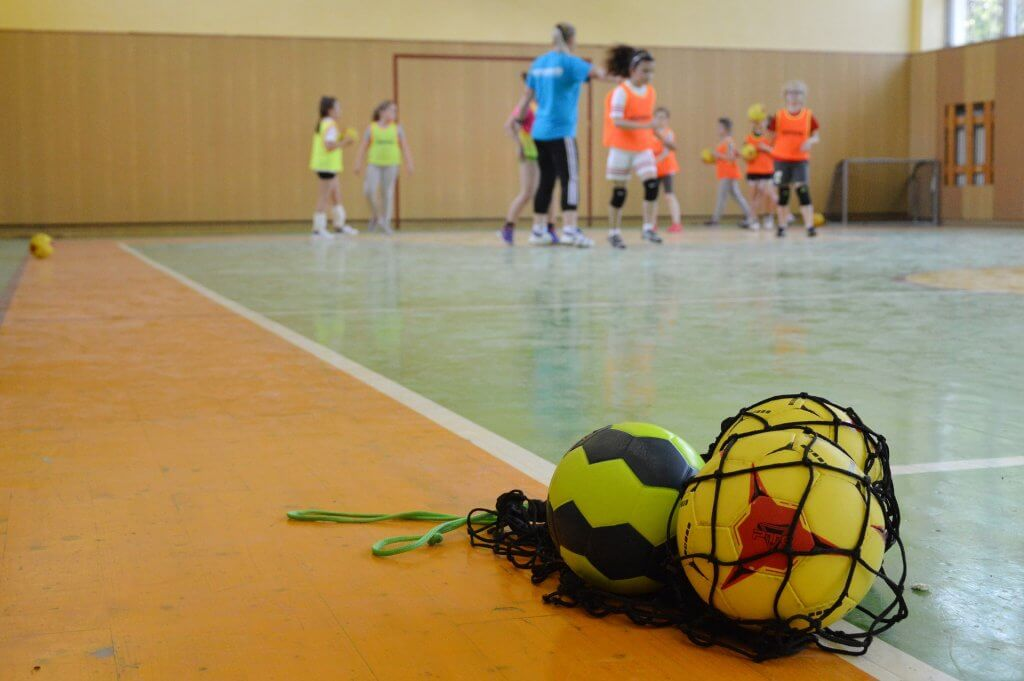 ハンドボールのトレーニングイメージ