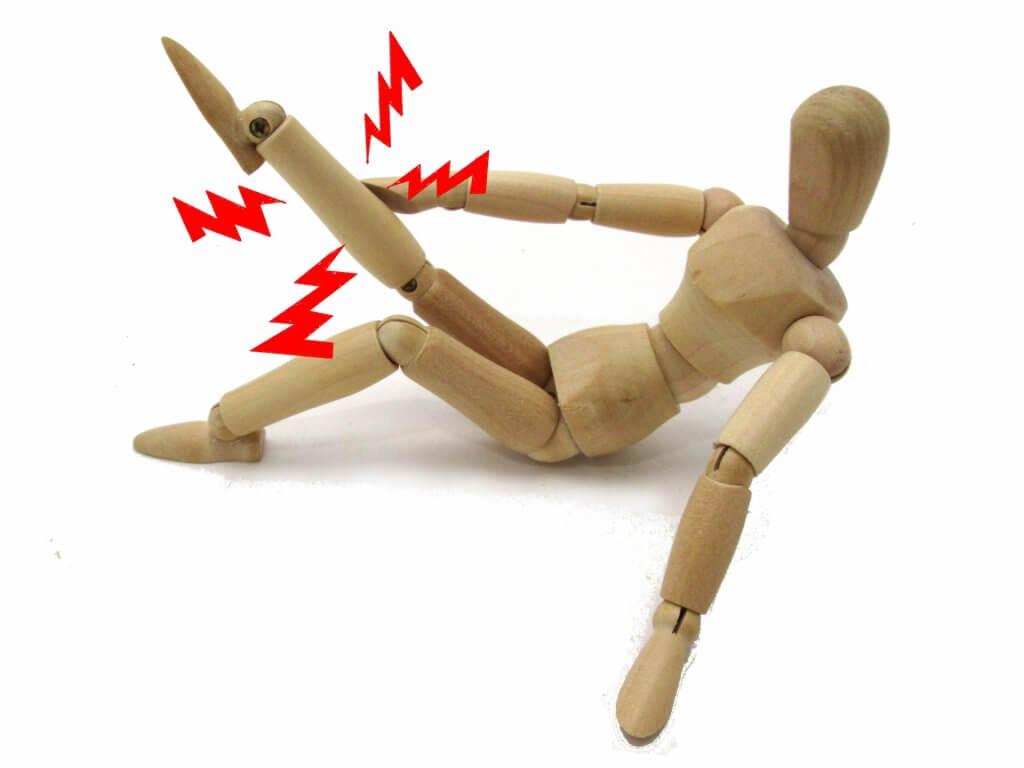 足の故障イメージ